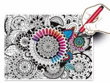 Casse-tête Colour Therapy 500 mcx - Fleurs
