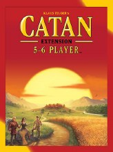 Catan 5 - 6 players extension