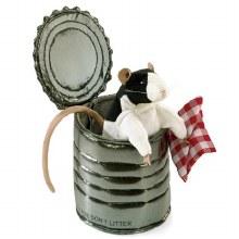 Marionnette Rat dans une cannette