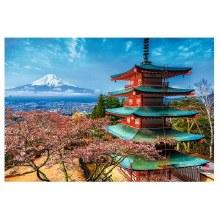 Casse-tête 1500 mcx - Le mont Fuji