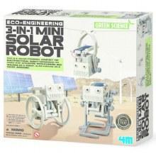 Robot solaire 3 en 1