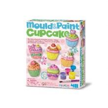 Mouler et peindre - Cupcake