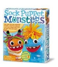 Marionnettes de Monstres en Chaussettes