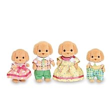 Calico Critters - Famille Caniches
