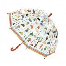 Parapluie sous la pluie