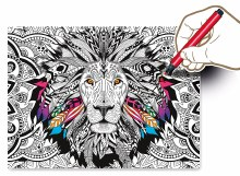 Casse-tête Colour Therapy 500 mcx - Lion