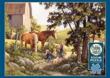 Casse-tête 500 mcx - Summer Horses