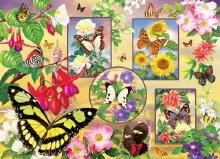 Casse-tête 500 mcx - Butterfly Magic
