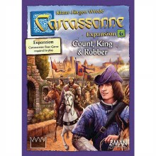 Carcassonne - Count, King & Robber
