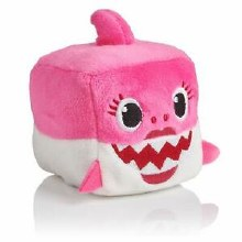 Peluche Baby Shark - Rose