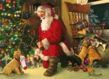 Casse-tête, 350 mcx - Santa's Lucky Stocking