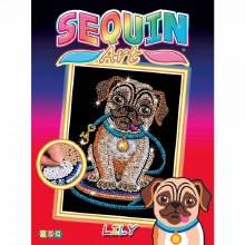 Sequin Art - Carlin Lily