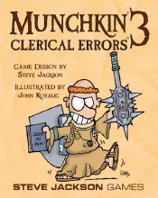 Munchkin 3 - Clerical Errors (extension)