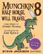 Munchkin 8 - Half Horse, Will Travel (extension)