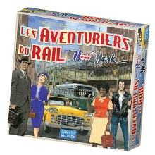 Les aventuiers du rail - New York (Fr.)