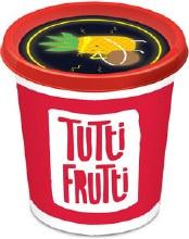 Tutti Frutti - Jaune néon
