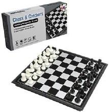 Jeux d'échecs et de dame magnétique