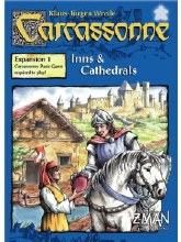Carcassonne Inns & Cathedrals (extension, english)