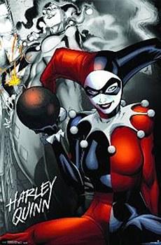 Harley Quinn The Bomb Poster