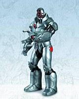 Dc Comics New 52 Cyborg Action