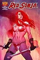 Red Sonja #16 Frison Cvr