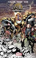 Age Of Ultron Coloring Book Tp