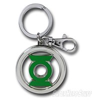 Green Lantern Sym Pewter Keych