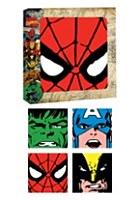 Marv Comics Glass Coasters 4pc