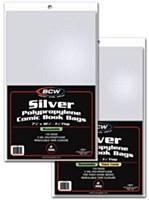 Silver Comic Book Bags 100/PK