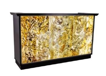 AY Recp Desk Stone 140cm