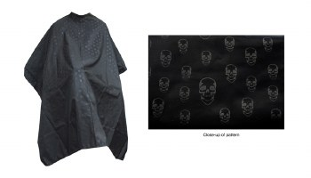 AG Barber Cape Skull Design