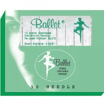 Ballet Insulated F3 Needle 10p