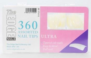 Edge Ultra Tips 360 asstd