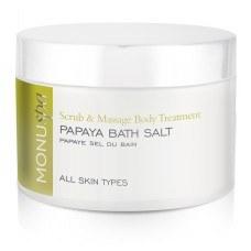 Monu R Papaya Bath Salt 150g