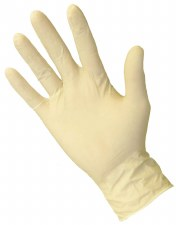 Glove Latex PwdFree Med 100pk