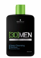 3D Men 250ml Deep Clea Shampoo