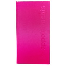 AG App Book 3 Col Hot Pink