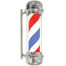 AG Barber Pole Elec BluRedWhtt