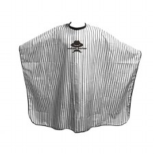 AG Barber Gown Pin Stripe