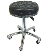 AG Stool Black Dimpled Seat