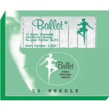 Ballet Stainless F3 Needle 10p