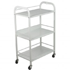 Crew Beauty Trolley 3Tier Wht
