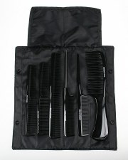Denman Comb Blac Precision Kit