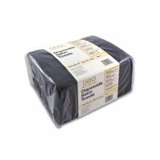 Deo Disposable Towel Black50pk