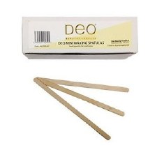 Deo Wax Spat Mini Wood 100pk