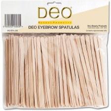 Deo Wax Spatula Eyebrow 200pk