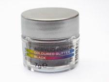 Edge Acrylic Glitter 7g Black