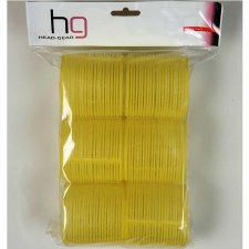HG Velcro Rollers Yellow 66mm