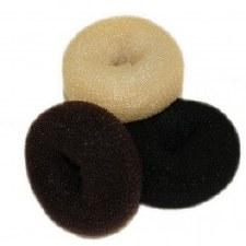 HT Bun Ring Black Medium