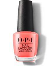OPI Lac Neon Orange You A Rock